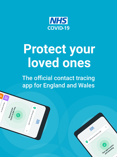 Official NHS COVID-19 contact tracing app