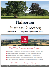Click Here for a PDF copy of the Latest Halberton Business Directory